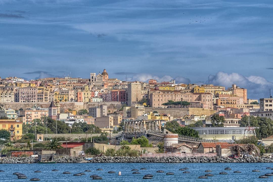 Cagliari Town Sardinia